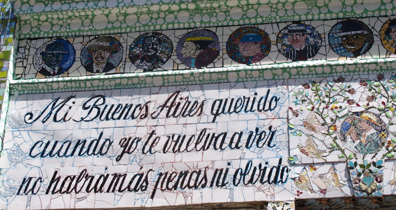 Tiled Tango House Buenos Aires Argentina