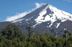 LLaima volcano Conguillo National Park Chile