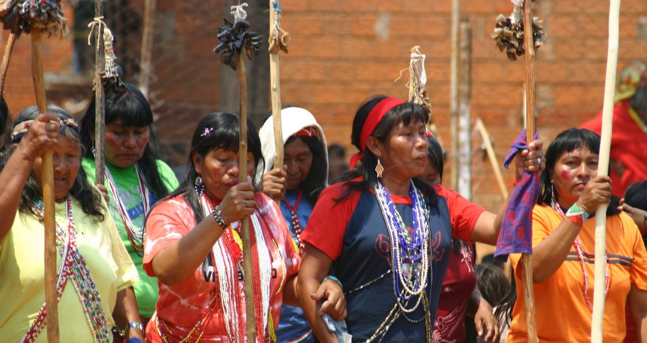 Maka people Paraguay