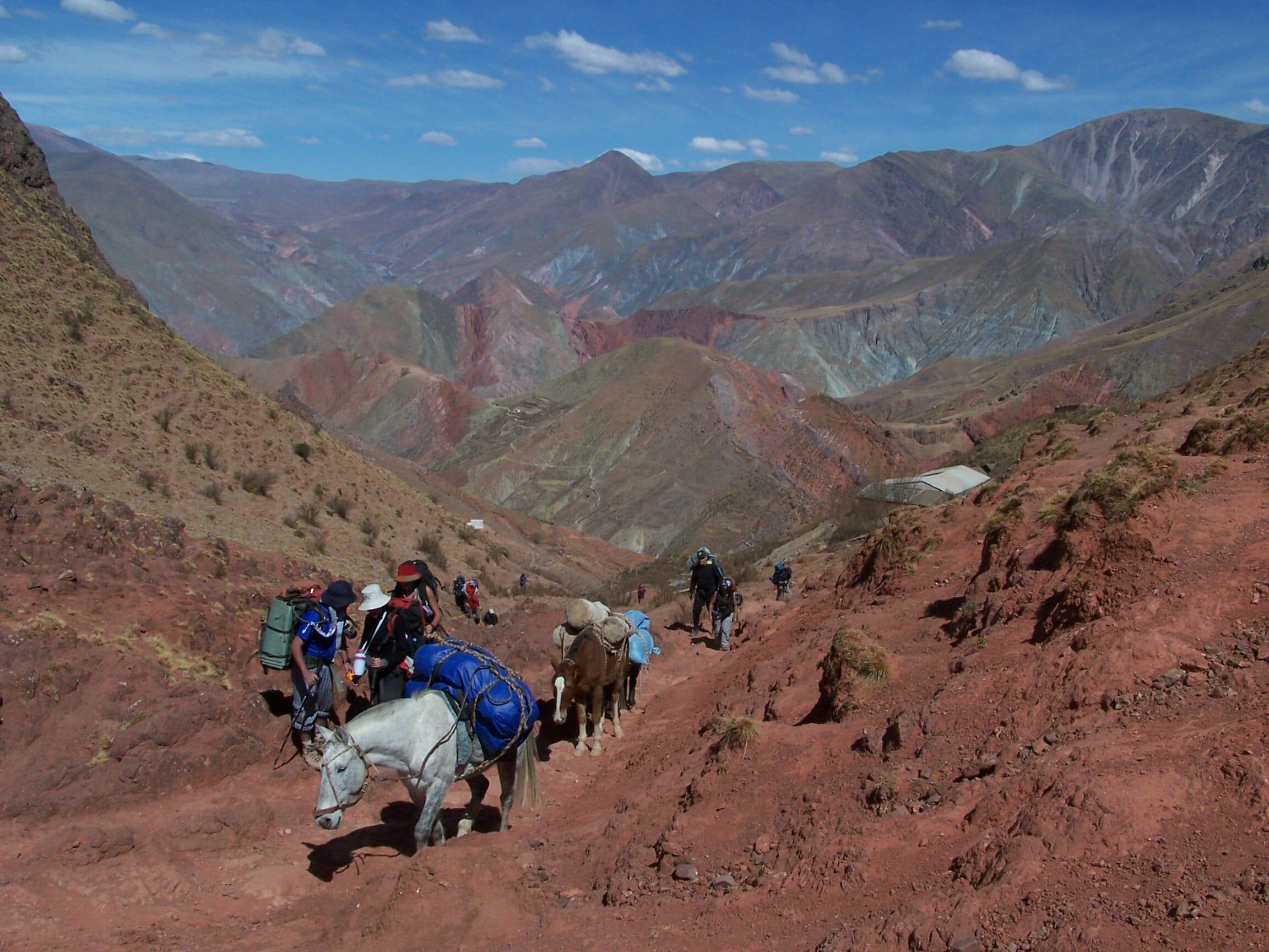 Trekking Chiyayoc El Abra Salta Argentina