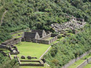 Choquequirao ruins overview, Peru